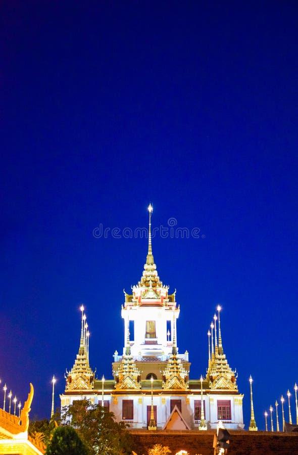 Points de repère de Bangkok, Thaïlande Wat Ratchanatdaram Temple dans le Ni photo stock