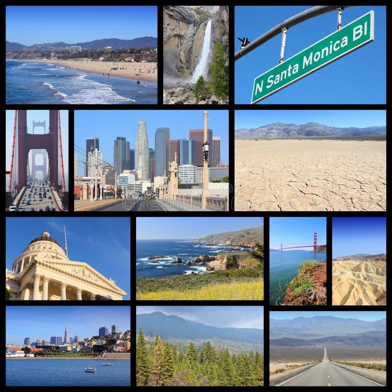 Points de repère de la Californie photographie stock