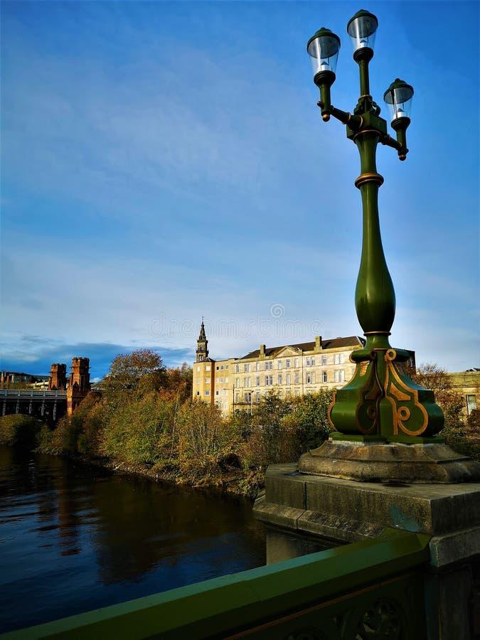 Points de repère de l'Ecosse - Glasgow Landmarks photo stock