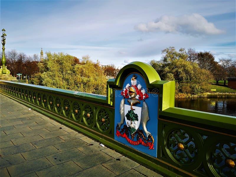 Points de repère de l'Ecosse - Glasgow Landmarks photos stock