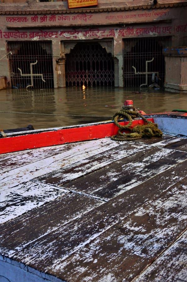 Points de repère de l'Inde - rivière le Gange, Varanasi images stock
