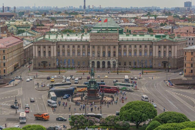 Points de rep?re St Petersburg, Russie image stock