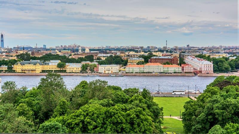 Points de rep?re St Petersburg, Russie images libres de droits