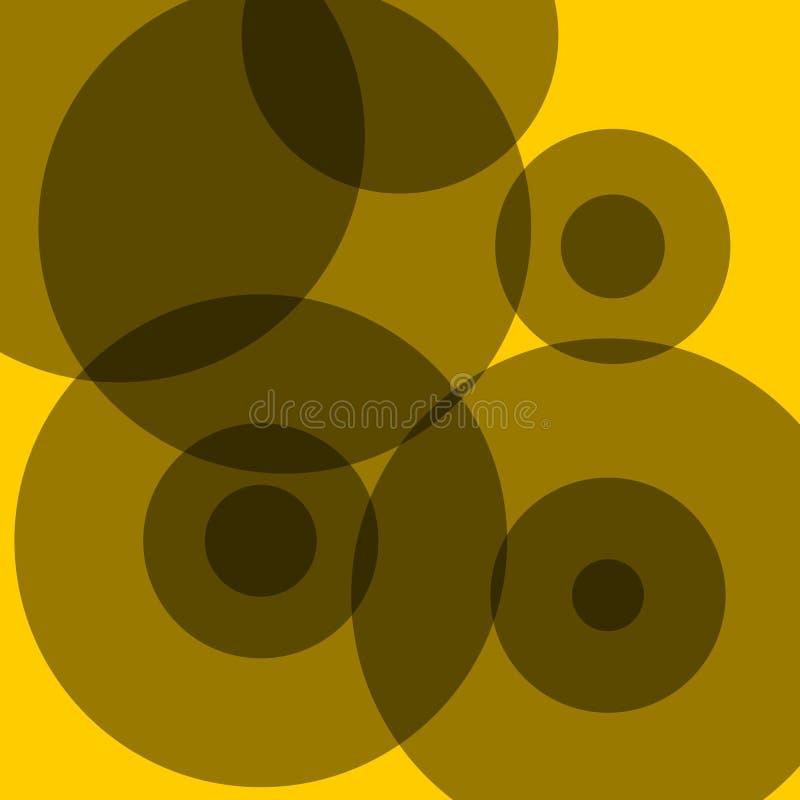 Points noirs illustration de vecteur