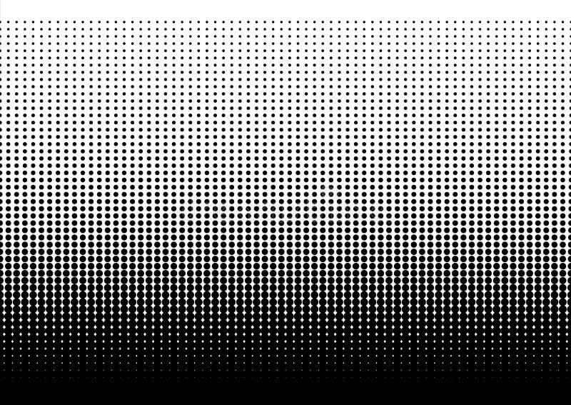 Points tramés Gradient pointillé illustration de vecteur