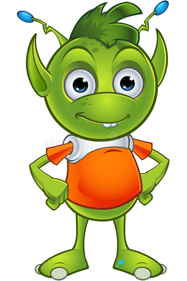 Free Pointy Eared Alien Character Stock Images - 48905254