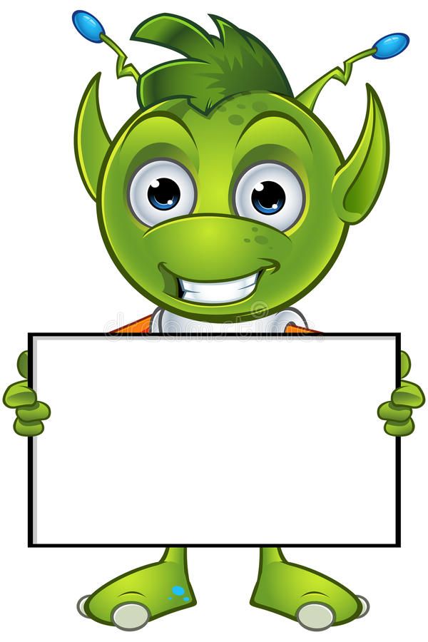 Free Pointy Eared Alien Character Stock Images - 48906424