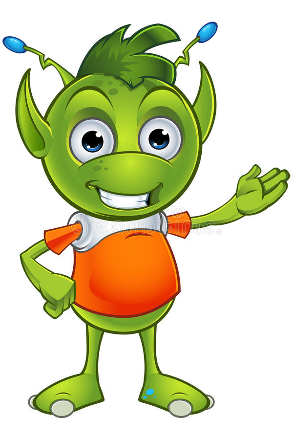 Free Pointy Eared Alien Character Royalty Free Stock Photo - 48906435
