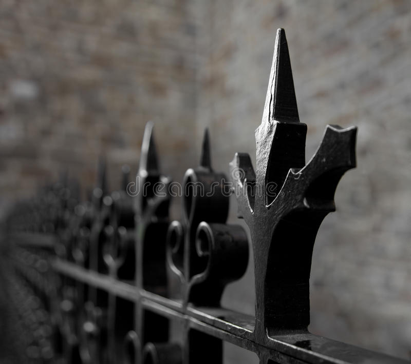 Pointy Fence Royalty Free Stock Photography