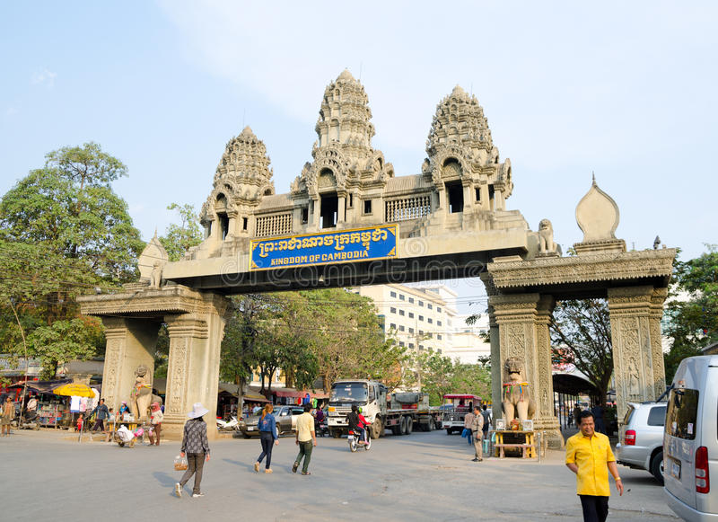 Poipet, Cambodia royalty free stock photos