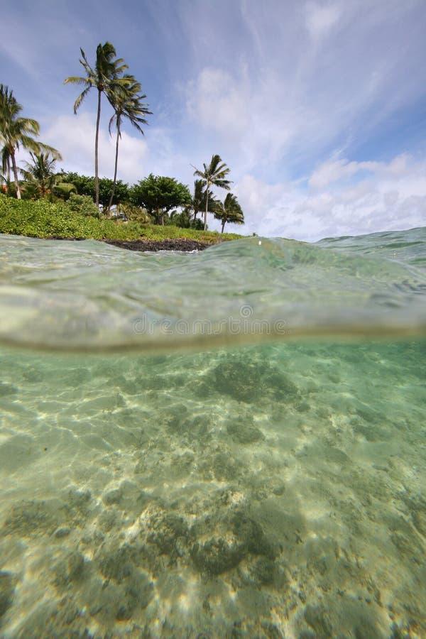 Poipu, Kauai immagine stock libera da diritti