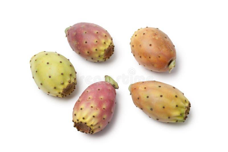 Poires entières de cactus photos libres de droits
