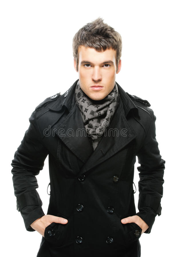 Free Poirtrait Of Young Serious Man Stock Photos - 20660873
