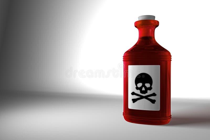 Poison stock illustration