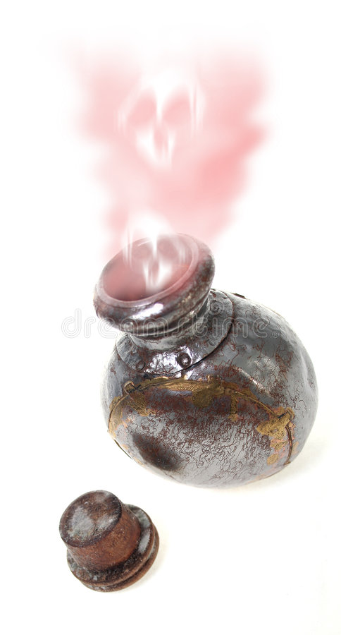 Poison in bottle royalty free stock photo