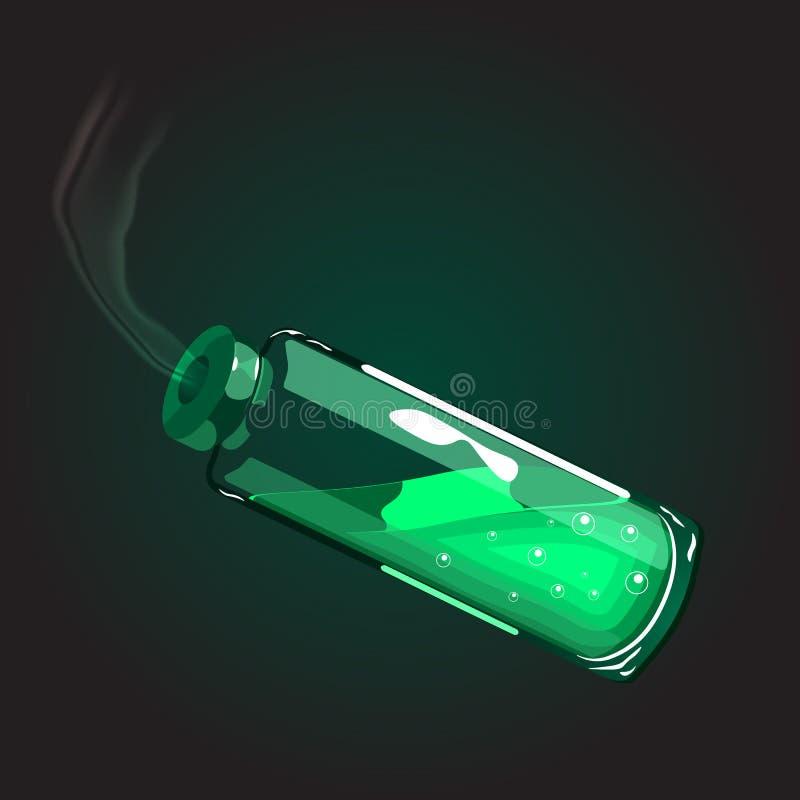 Poison dans un tube photos libres de droits