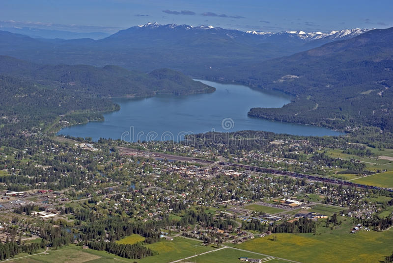 Poisson à chair blanche Montana Etats-Unis image stock