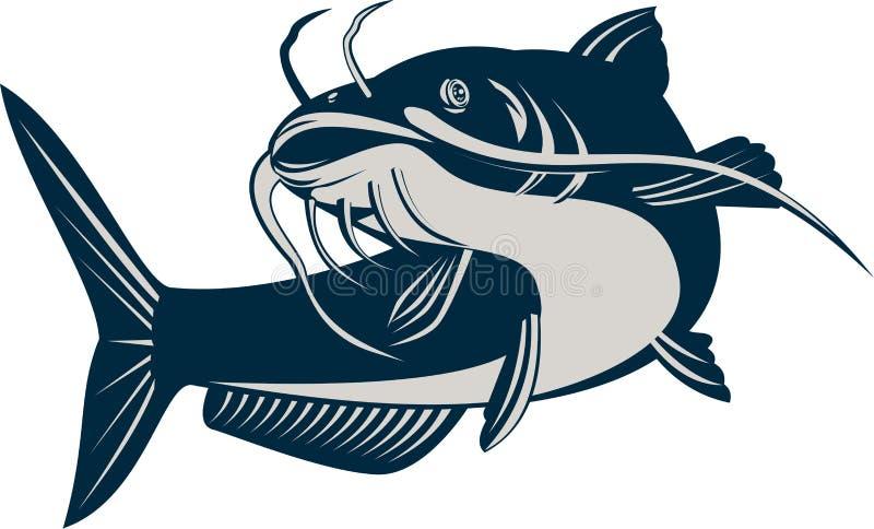 poisson-chat illustration libre de droits