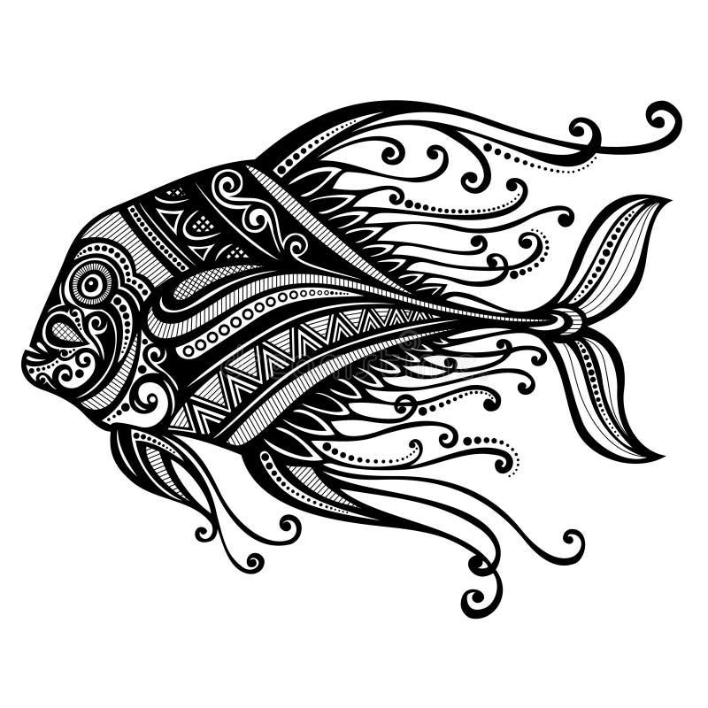 Poisson de mer illustration libre de droits