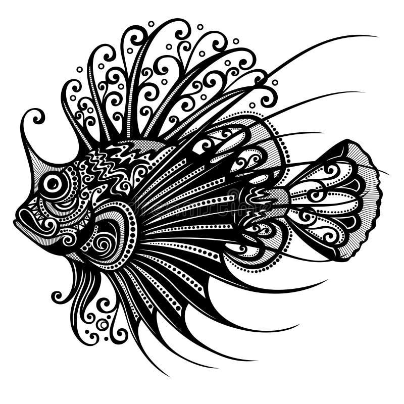 Poisson de mer illustration stock