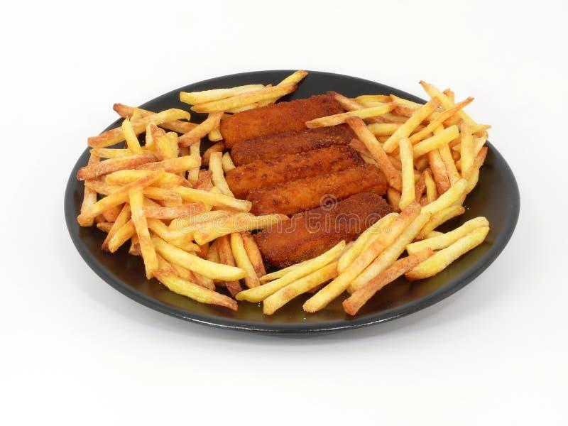 Poisson-frites photo libre de droits