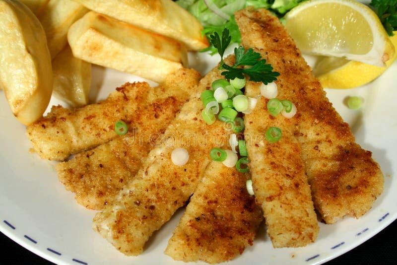 Poisson-frites 2 photo stock
