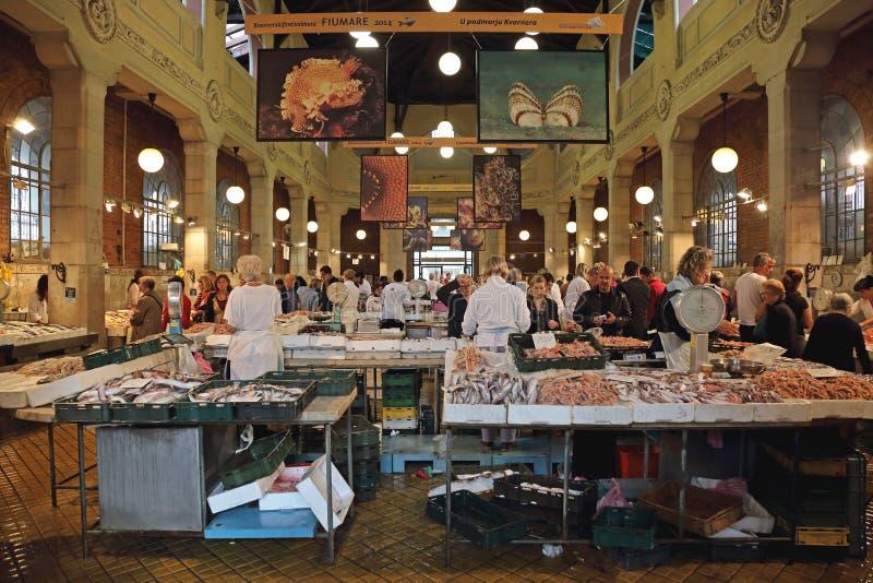 Poissonnerie Rijeka photos stock
