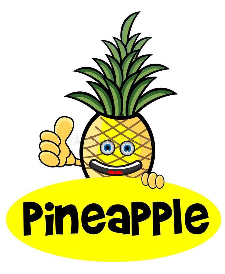 Poissons d'ananas image libre de droits
