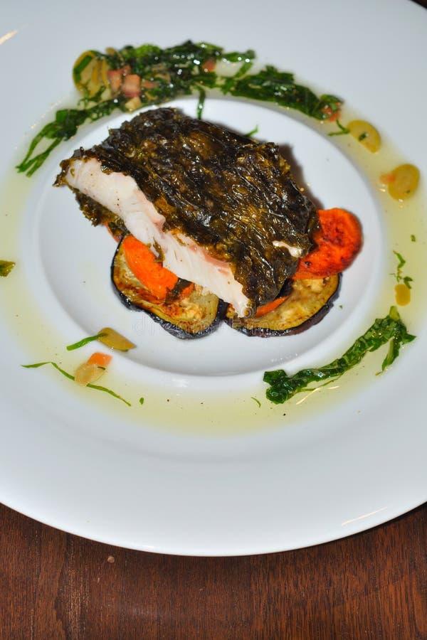 poissons de dîner photographie stock libre de droits