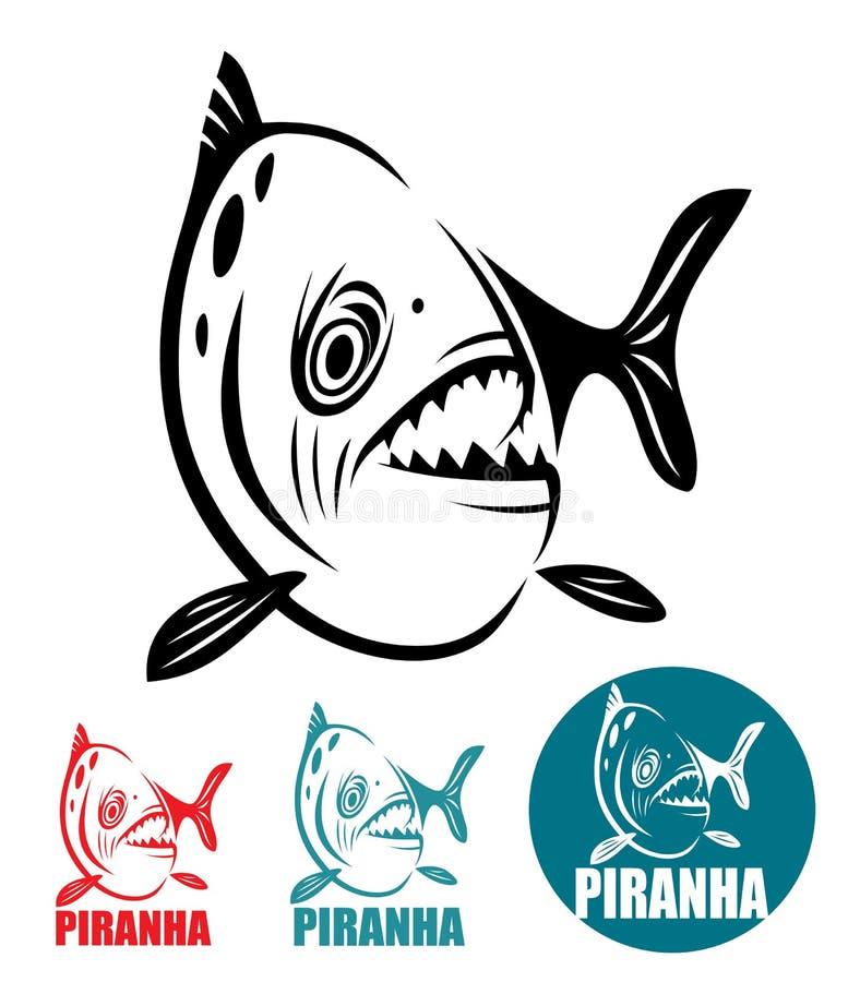 Poissons de piranha illustration libre de droits