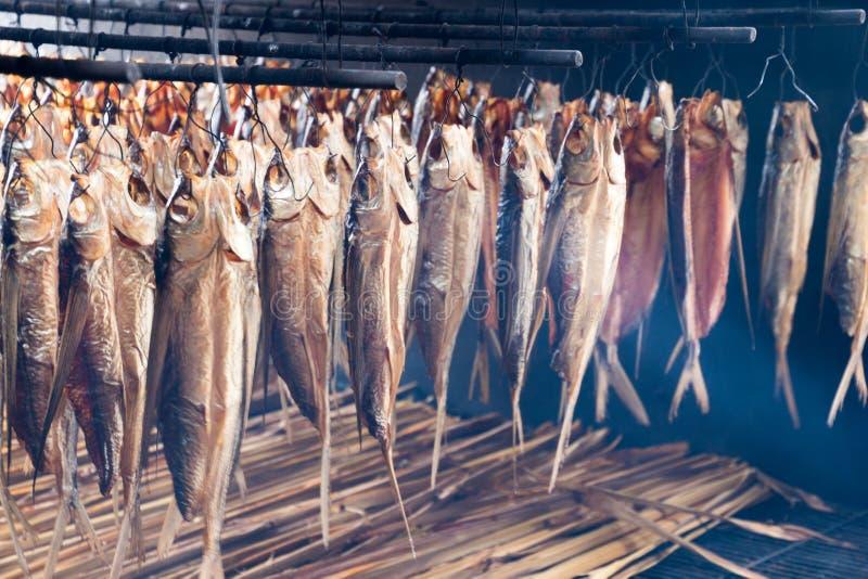 Poissons de vol préparés par des aborigènes de Taiwan image stock