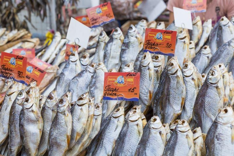 Download Poissons Salés Secs à Un Marché D'agriculteurs à Odessa, Ukraine Photo éditorial - Image du détail, marché: 76085391