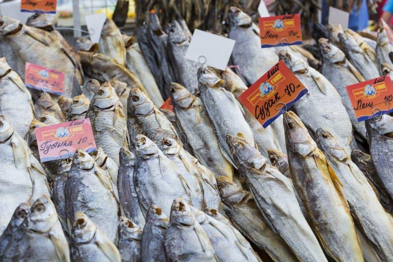 Download Poissons Salés Secs à Un Marché D'agriculteurs à Odessa, Ukraine Photo éditorial - Image du préservé, cuisine: 76085421