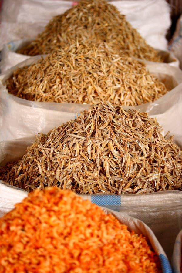 Poissons secs chinois photos stock
