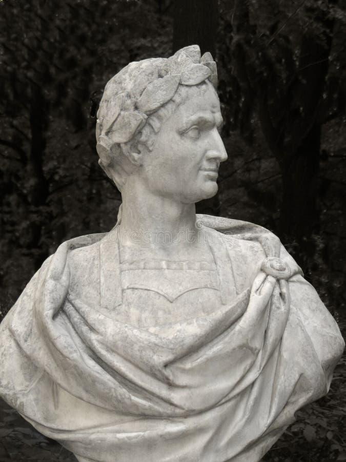 Poitrine de Jules César image libre de droits