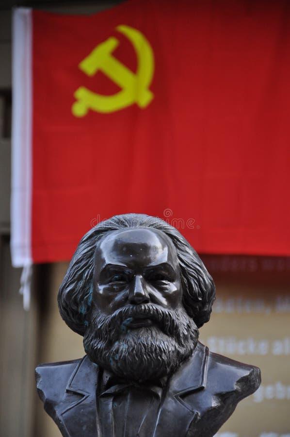 Poitrine de Karl Marx photos libres de droits