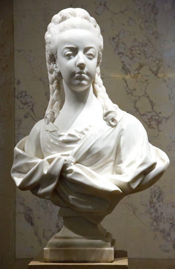 Poitrine de Marie Antoinette photo libre de droits