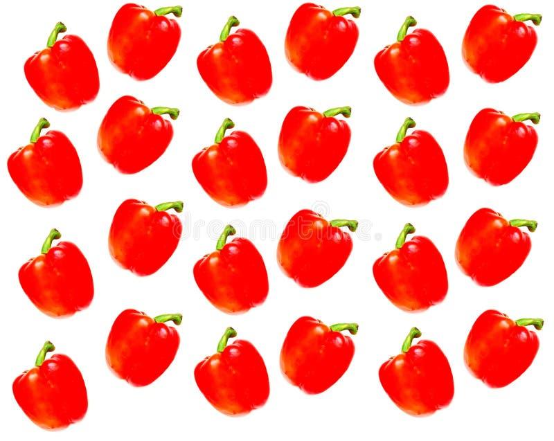 Download Poivre Bulgare Sur Un Fond Blanc Photo stock - Image du nutrition, rouge: 76083742