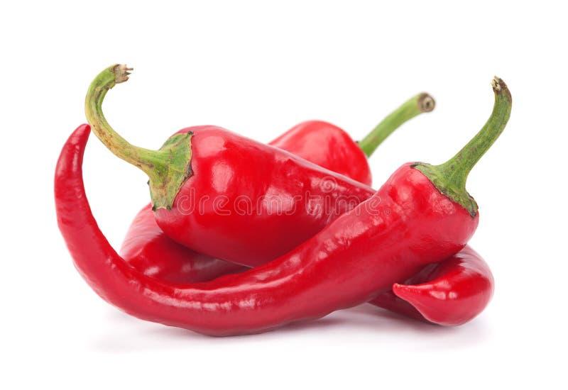 Poivre de piments rouges images stock