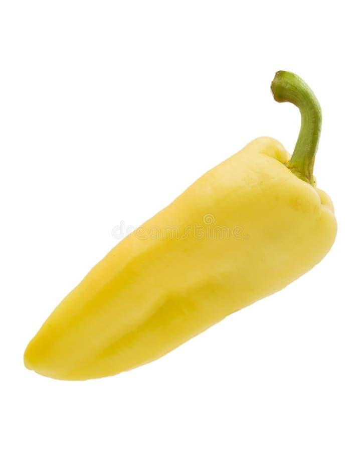 Poivre jaune image libre de droits