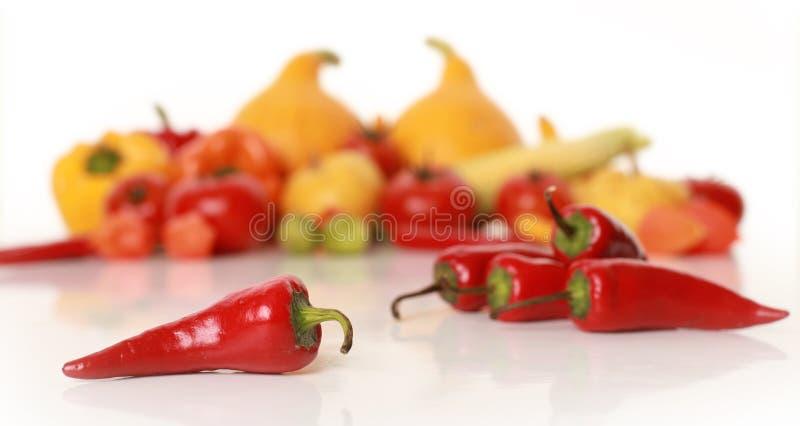 /poivron et légumes photographie stock