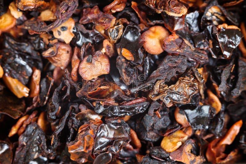 Poivron rouge de piment fort d'épice de Chipotle images libres de droits