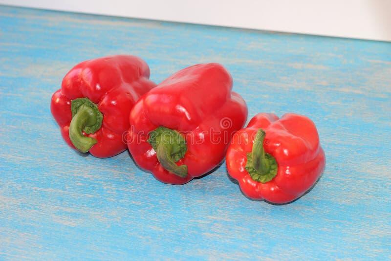 Poivron rouge doux images stock