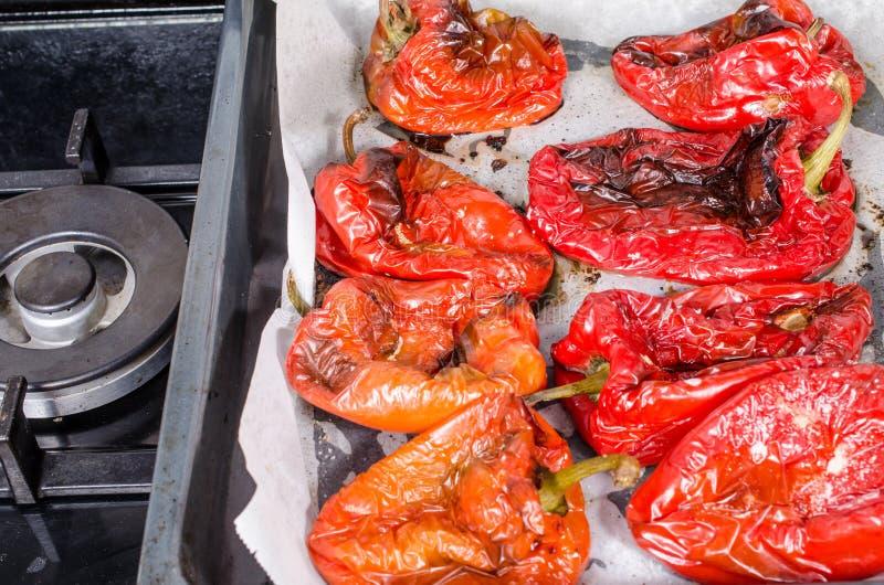 Poivrons rouges grillés photos libres de droits