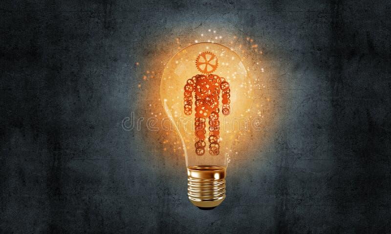 Pojęcie wydajne innowacje dla ludzkości ilustracji