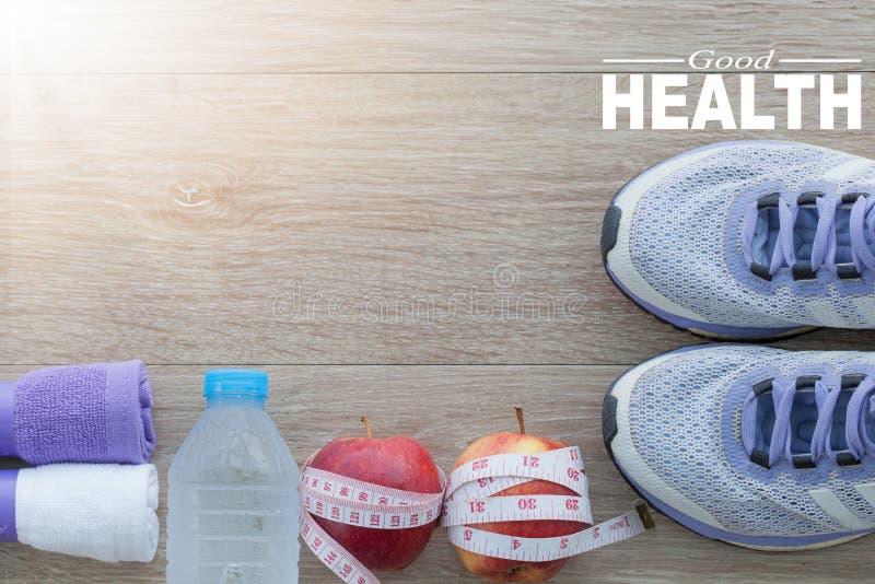 pojęć dobre zdrowie Zdrowy styl życia dla tła zdjęcia royalty free