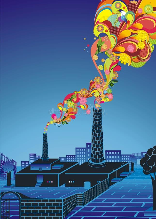 pojęcia środowiska globalny nagrzanie ilustracji