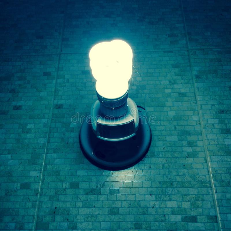pojęcia żarówki pomysł ilustracji światła wektora obrazy stock