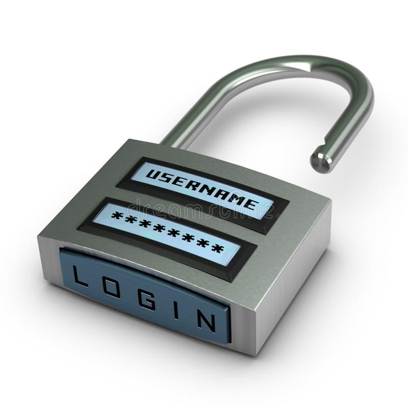 pojęcia internetów ochrona ilustracji
