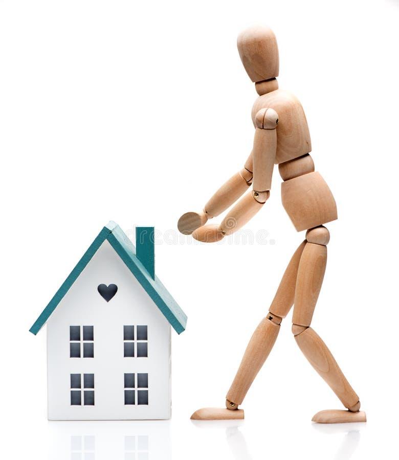 Pojęcia kupienia nieruchomość, ubezpieczenie, czynsz obraz stock